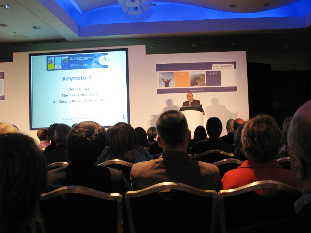 the AC Conference in March 2010